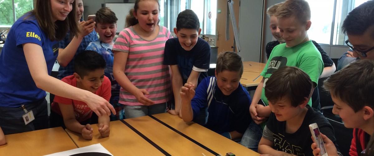 Tagesausflug 6a – Schülerlabor und HNF
