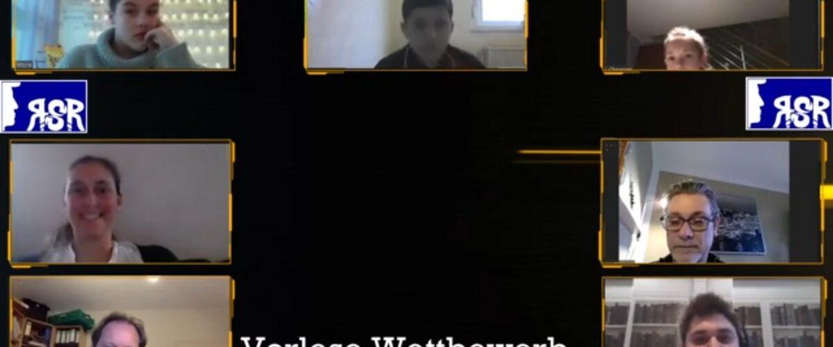 Vorlesewettbewerb per Videokonferenz